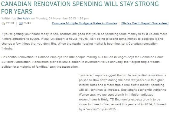 canadian revolution spend