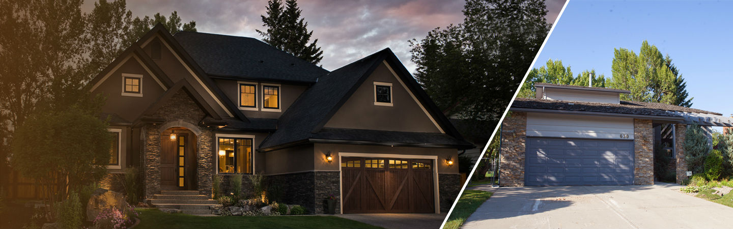 Home renovations calgary custom design build pinnacle Exterior home renovations calgary