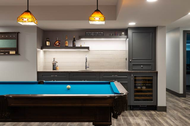 Basement Reno Pinnacle Group