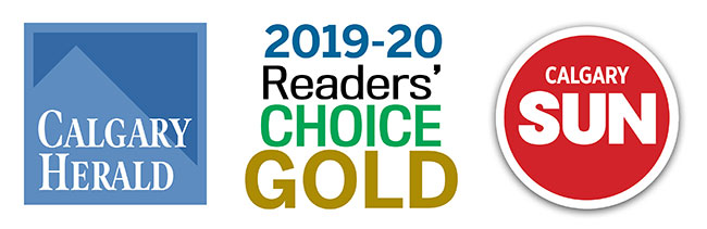 2019-20 Readers' Choice Gold Award Calgary Herald